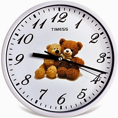 Reloj de Pared Ositos de Peluche