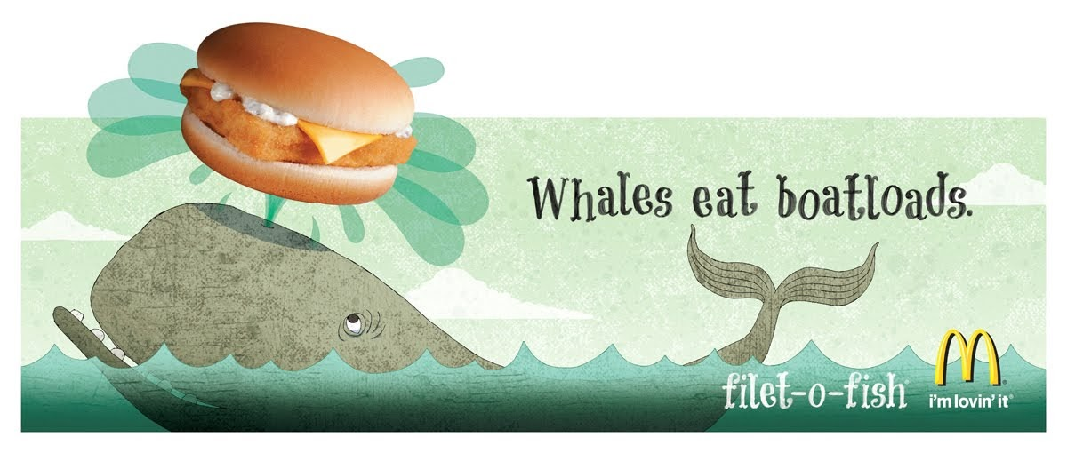 Tales from the sea new advertising illustration work for P o fish