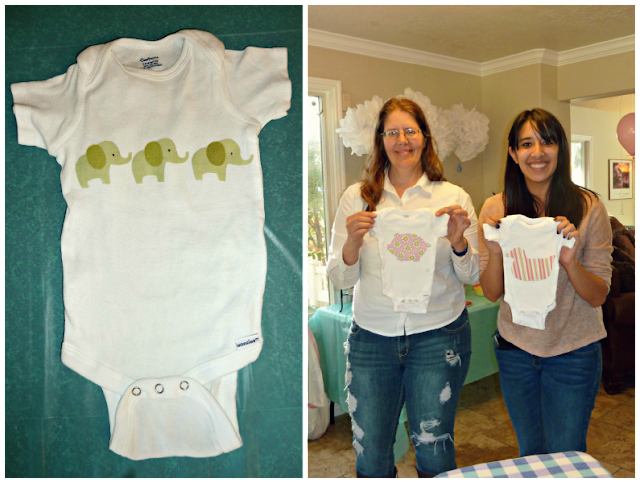 my favorite onesie i made aunt heidi and sarah with their onesies