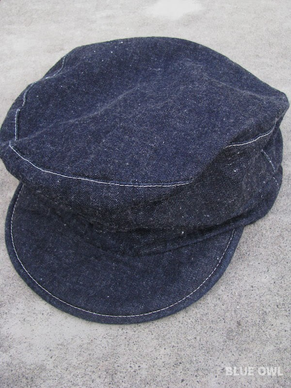 Eternal Unstructured Denim Leather Caps Chino Fabric Hat
