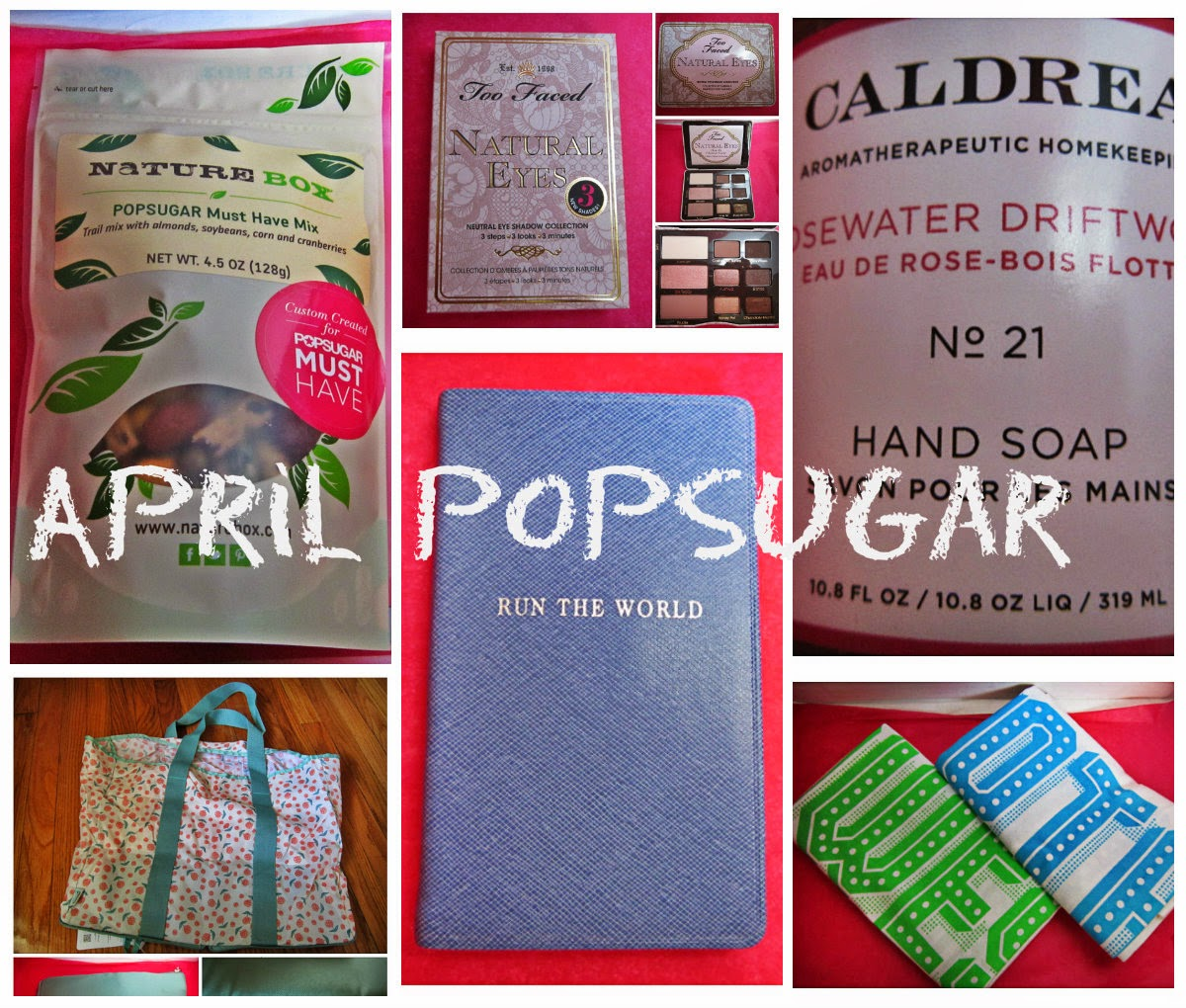 April 2014 PopSugar Must Have Box