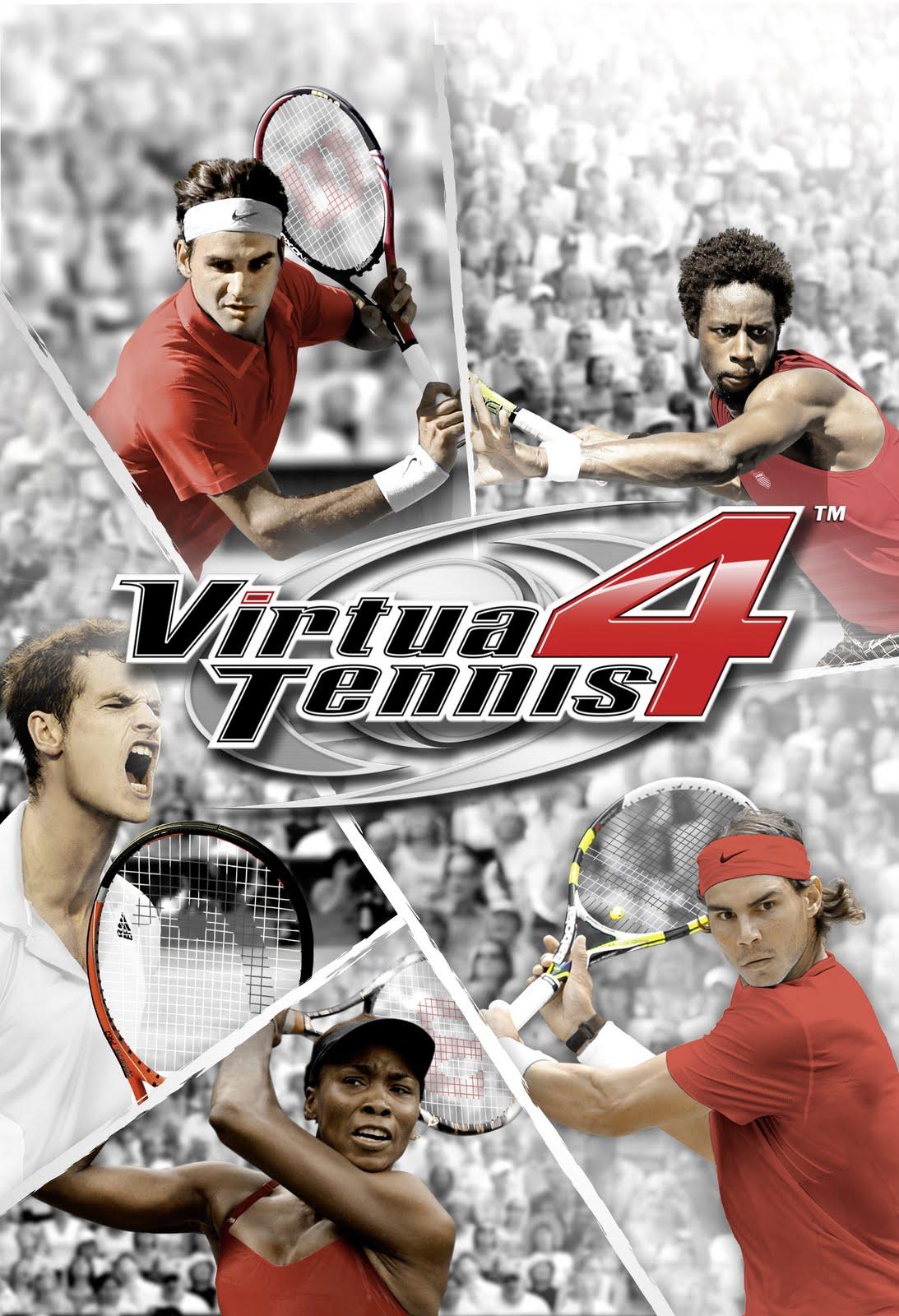 Virtua Tennis 4 Psp