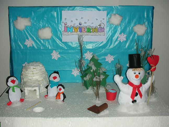 Pasito a pasito decoraci n del aula el invierno for Decoracion invierno