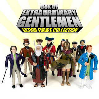 Box of Extraordinary Gentlemen Action Figure Collection