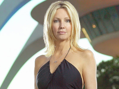American Television Personality Heather Locklear Wallpaper