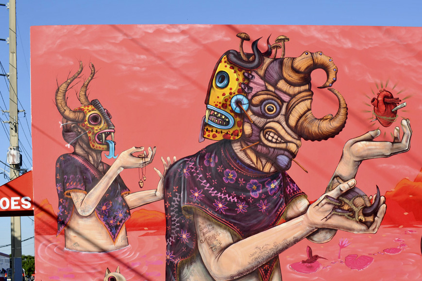 Saner mural 1 saner sego wynwood walls for Mural mexicano
