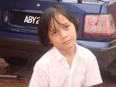 my younger sister....    Najibah Husna
