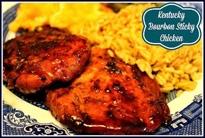 Sweet tea and cornbread kentucky bourbon sticky chicken - Kentucky french chicken ...