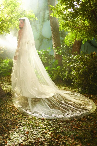 Official Disney Bridal Veils from Alfred Angelo - Rapunzel