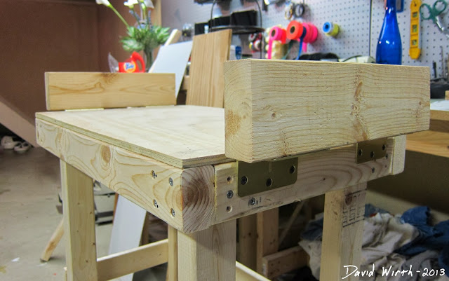 test fit miter saw, stand, table saw, form, table