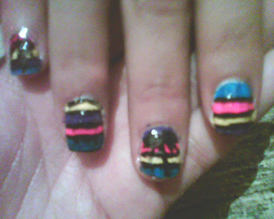 80's nails