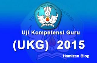Mengetahui Hasil UKG 2015