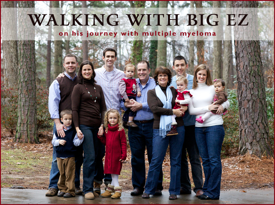 Walking with Big EZ
