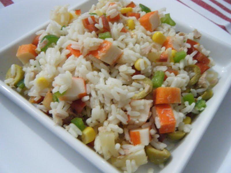 Tomillo laurel y otras cosas de comer ensalada de arroz - Ensalada de arroz y atun ...