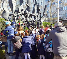 יום השואה הבינלאומי בסלוניקי 2015