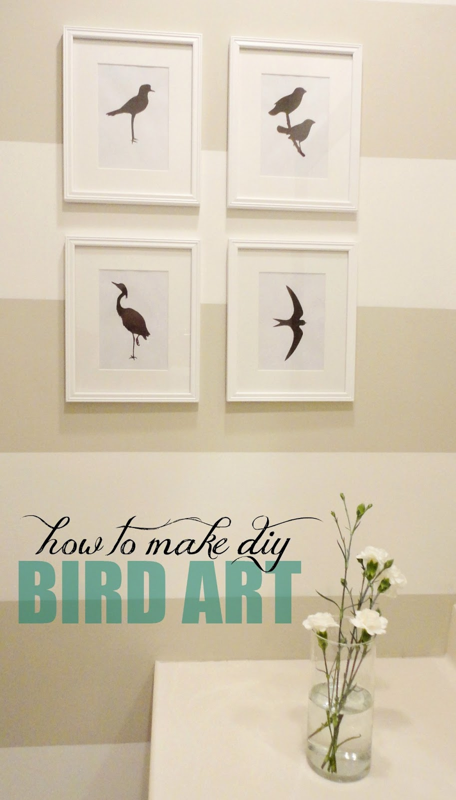 LiveLoveDIY: 10 DIY Art Ideas: Easy Ways to Decorate Your Walls!