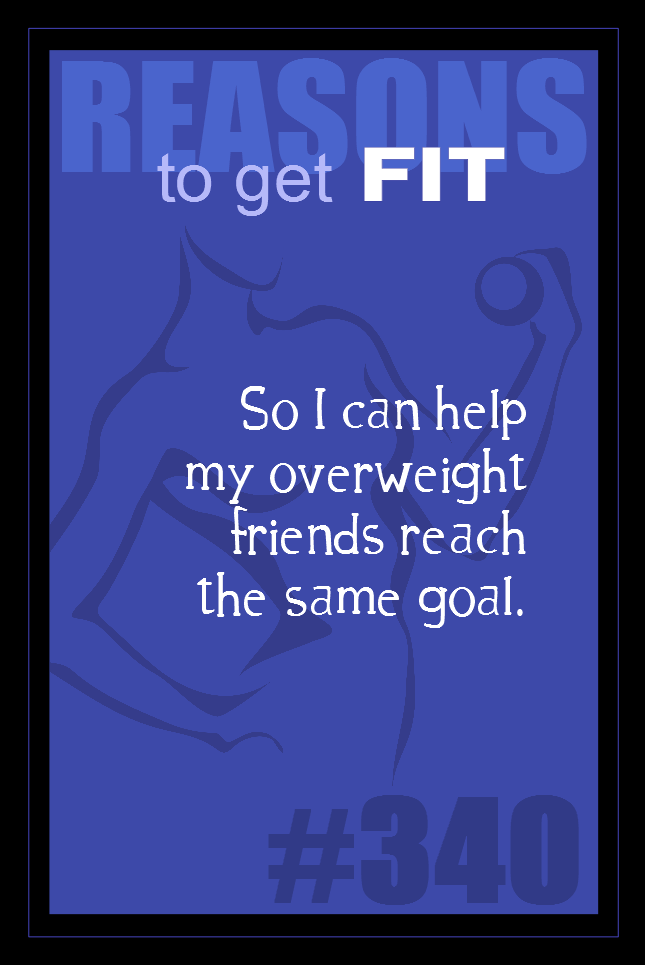 365 Reasons to Get Fit #340