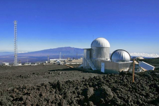 The Mauna Loa Observatory atmospheric research facility on the island of Hawaii. (Credit: AP Photo / Chris Stewart) Click to enlarge.