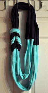 Two-tone Braided Scarf
