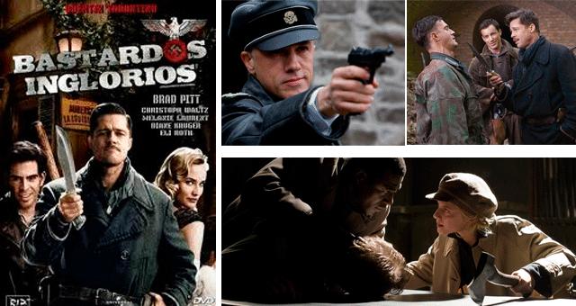 Top 3 Filmes: Bastardos Inglórios