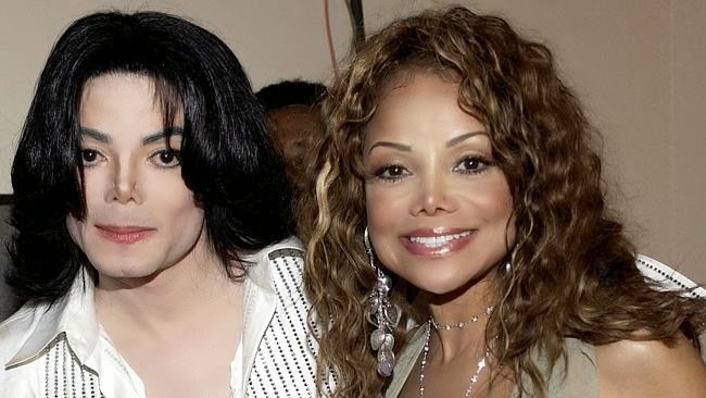 Michael y La Toya Jackson