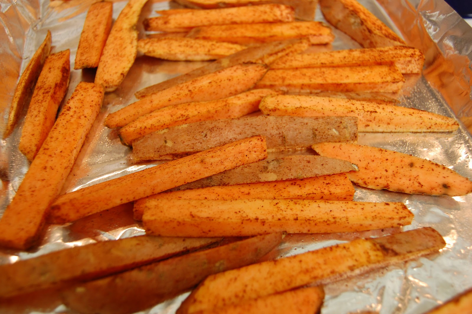 Hot N Steamy Food: Butternut Squash Fries