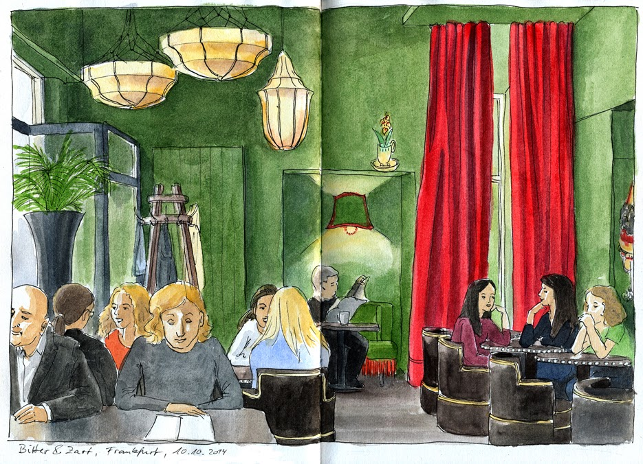urban sketchers germany frankfurt. Black Bedroom Furniture Sets. Home Design Ideas