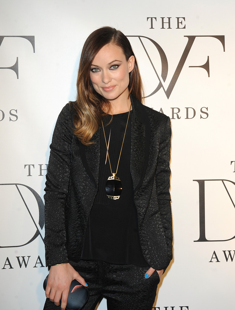 Olivia Wilde brings her sweet smile to the 2013 DVF Awards Olivia Wilde 2013