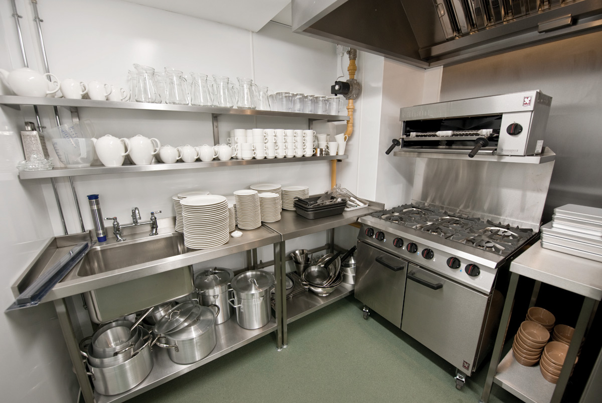 Monarch catering equipment april 2011 Small kitchen setup