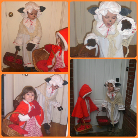 Little Red Riding Hood and The Big Bad Wolf, Halloween 2012