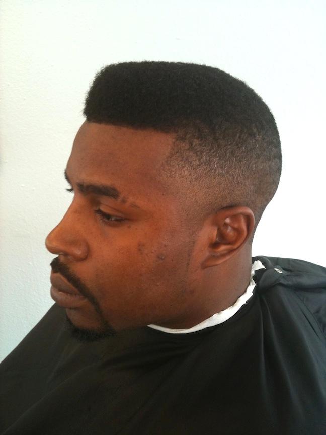 Gumby haircut