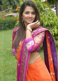 Kannada Actress Pavithra Gowda Pictures at Saguva Dhareyalli Movie Launch 0005.jpg