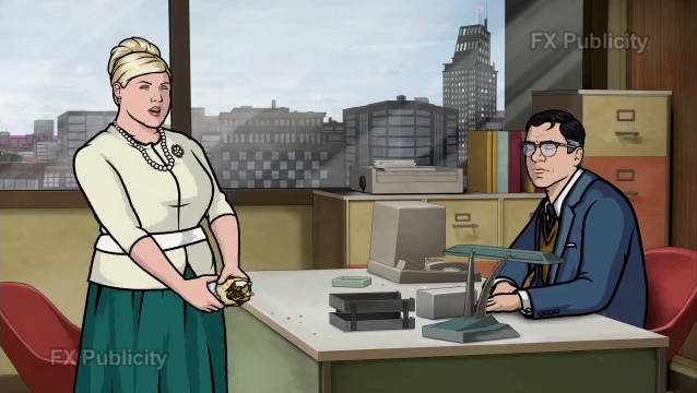 Archer - Episode 4.09 - The Honeymooners - Advanced review