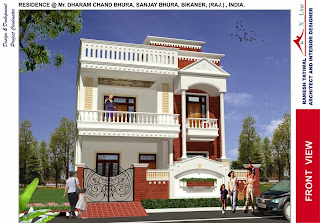 Awesome Modern Indian Home Design Front View Pictures Trends
