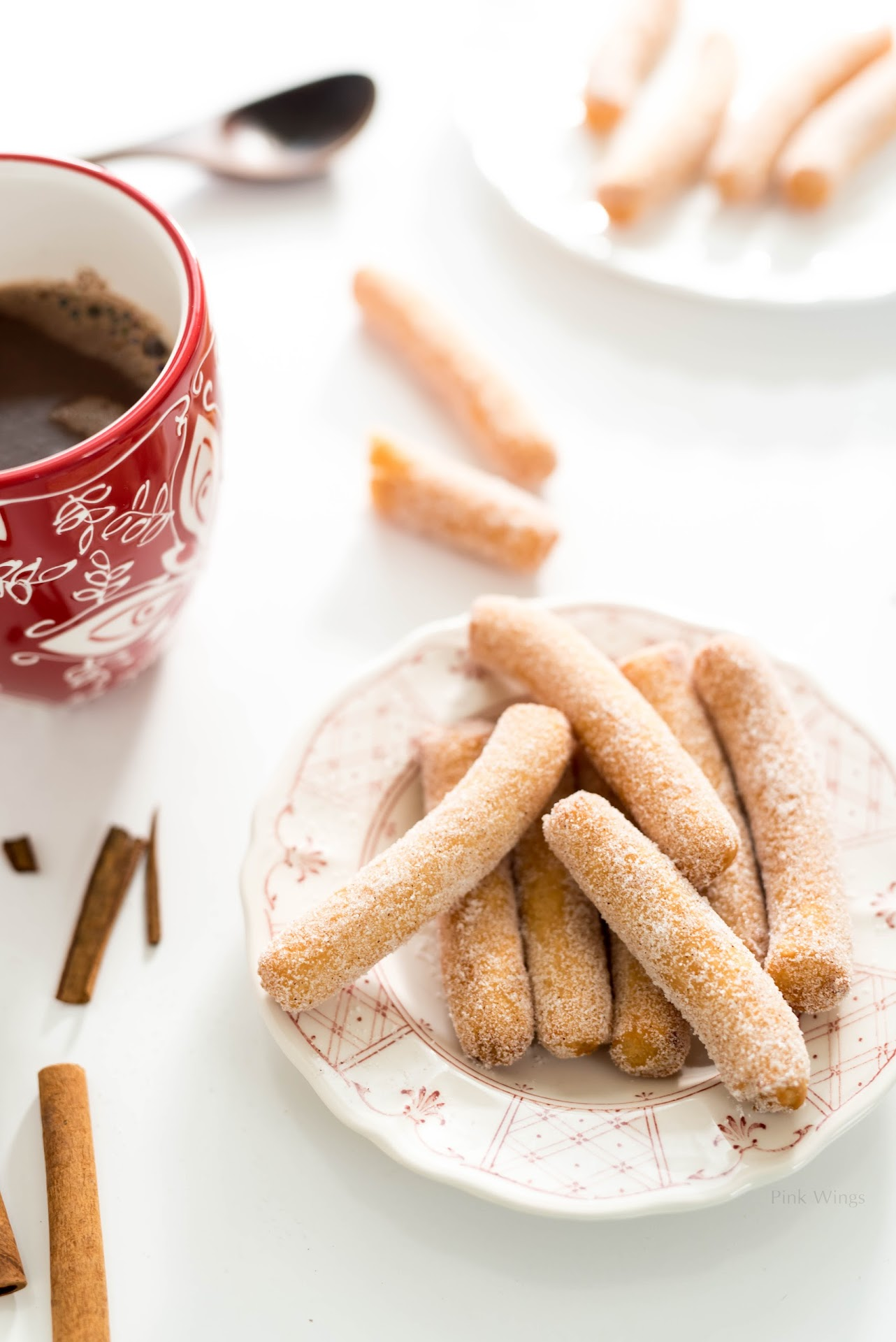 churros con chocolate recipe, european hot chocolate, dairy free recipes, a2 milk review, dairy for people with pd3, easy quick churros, hot chocolate bar ideas