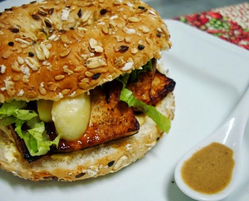 Sanduíche de Tofu (vegana)
