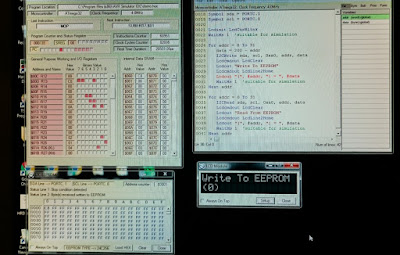 Oshonsoft AVR Simulation toiminnassa