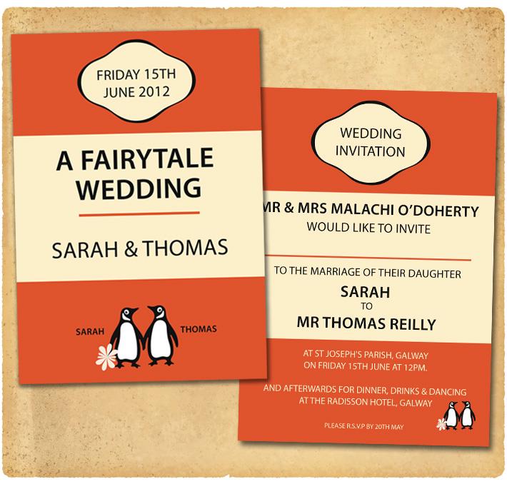 book invitation template