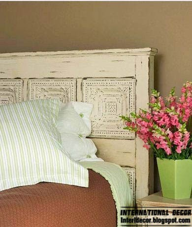 old fashioned headboard, king size headboard, creative headboard designs