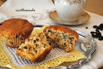 Muffin con pepite di cioccolato ricetta dolce