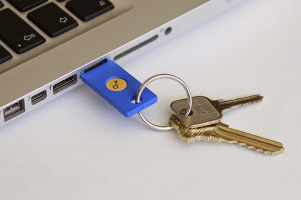 Google Launches Its USB Security Key Support