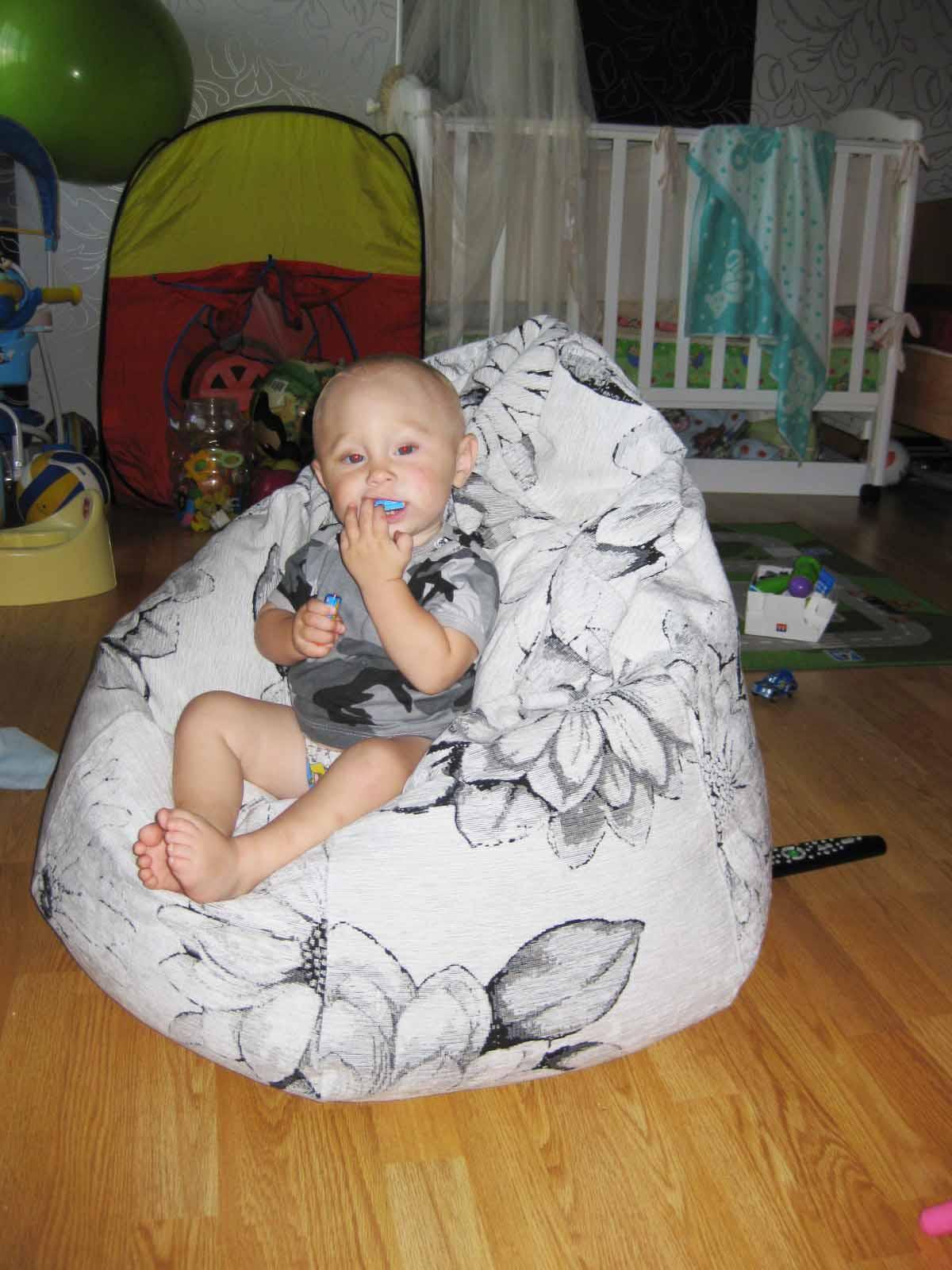 Кресло мешок своими руками в домашних условиях