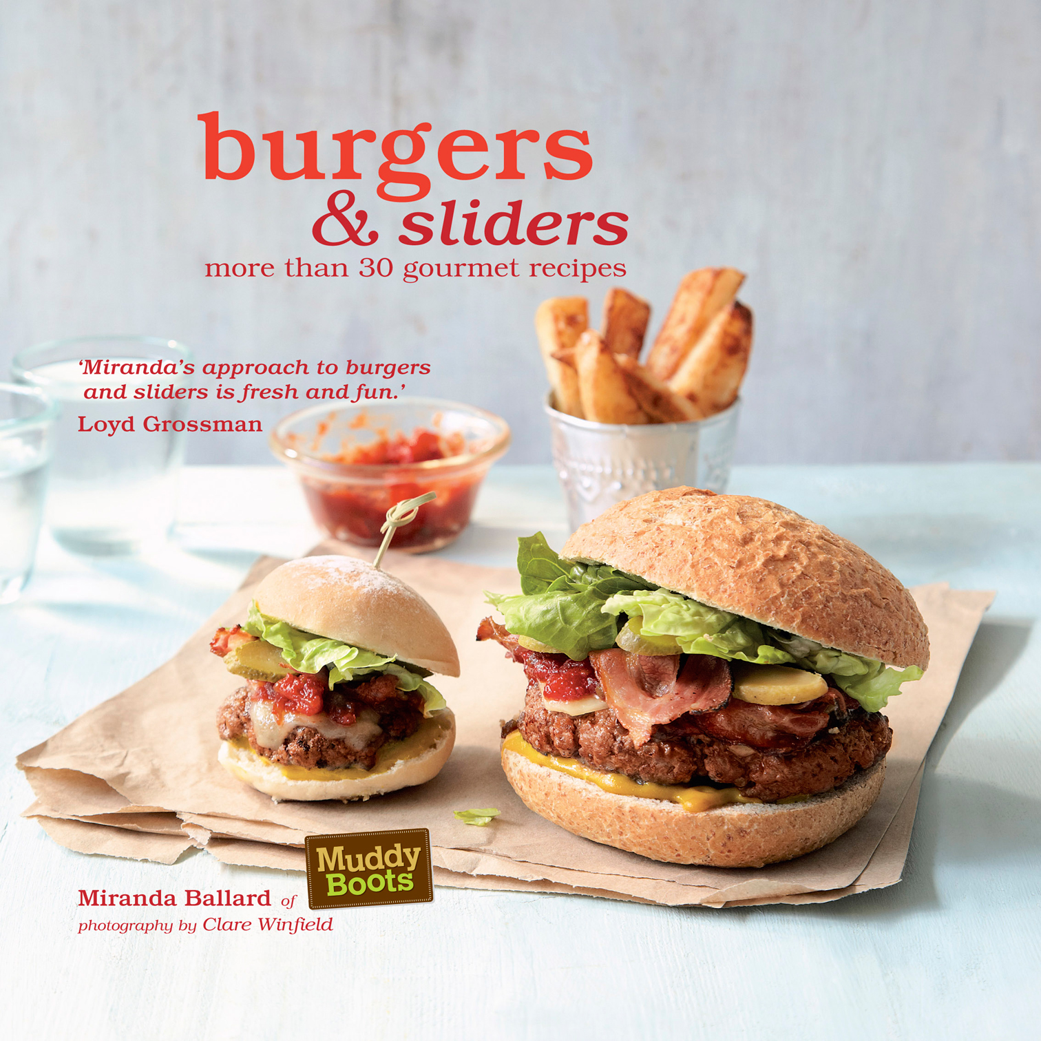 Giveaway - Burgers and Sliders Book