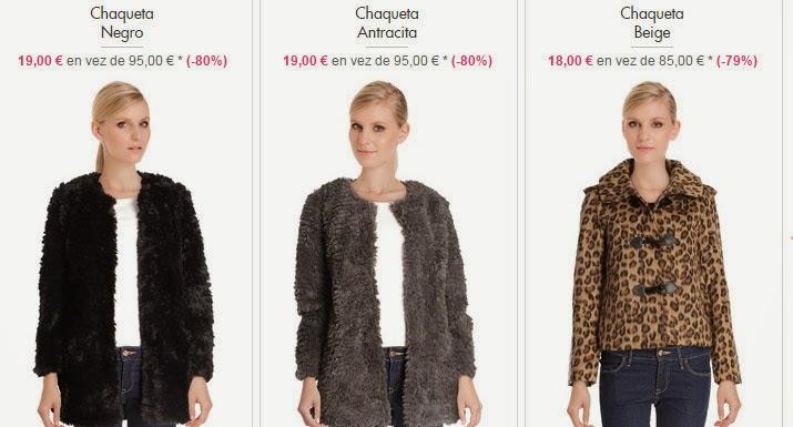 Elige tu chaqueta de Folia y ahorra.