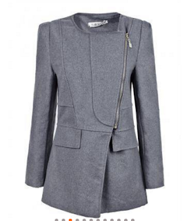 gray wool coat banggood