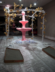 Installation art by Kristina Arnold