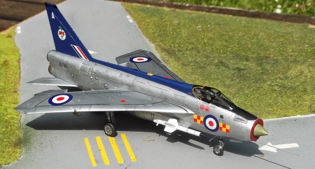 My Blog Verwandt Mit Lightning: My Modelling Blog: Airfix EE Lightning F.2A In
