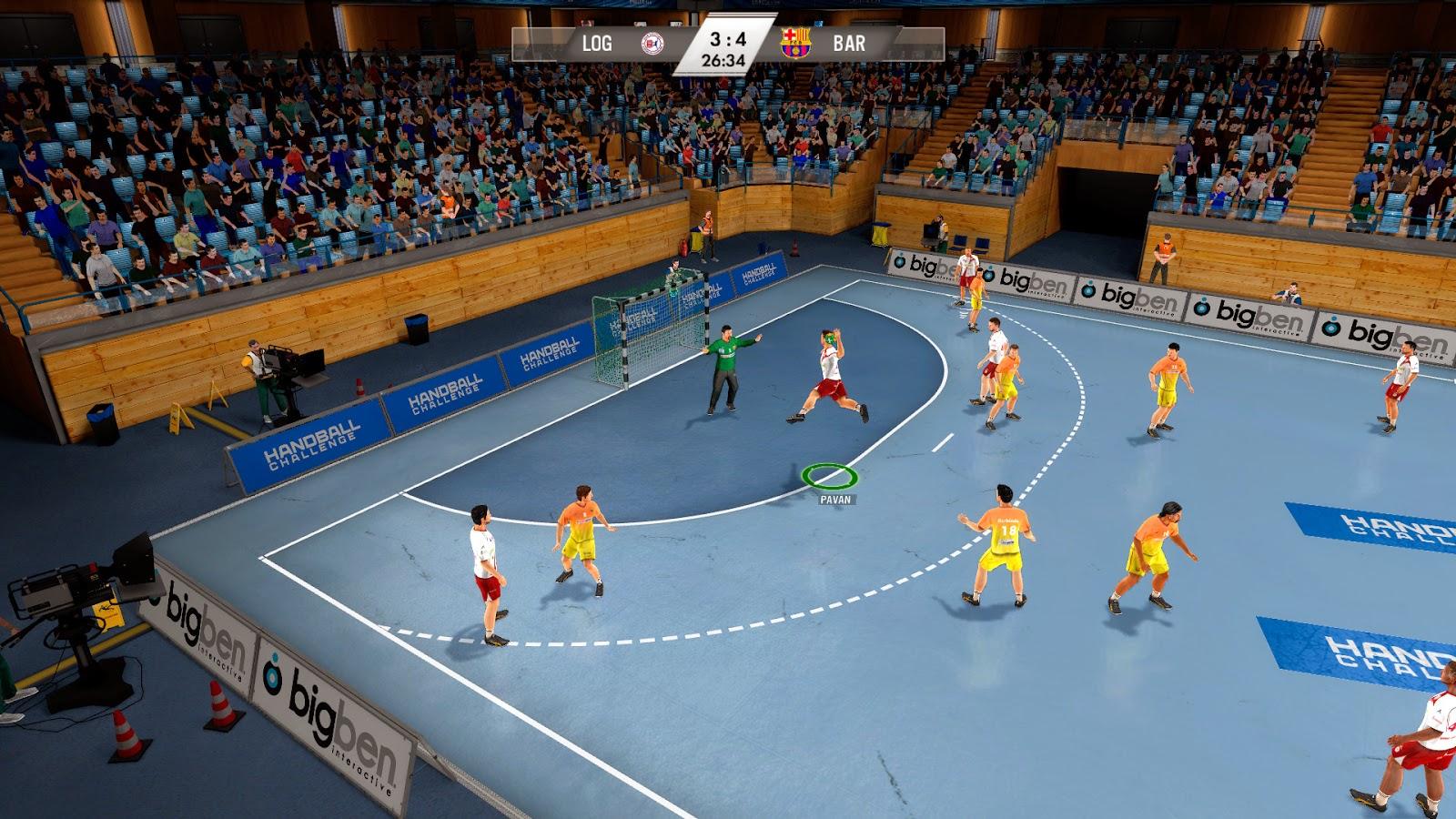 IHF Handball Challenge 14 screenshots