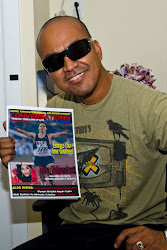 Photographer Derty Rockstar with Conversations Magazine