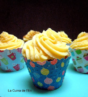 Cupcakes de Crema catalana